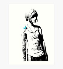 Chloe Price - Transparent - Life is Strange Art Print