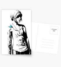 Chloe Price - Transparent - Life is Strange Postcards