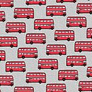 London Red Bus by Bronte Carr
