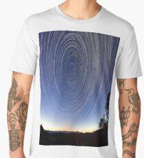Star Trails Men's Premium T-Shirt
