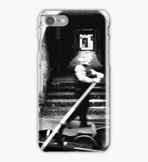 Gondola on a Calle of Venice iPhone Case/Skin