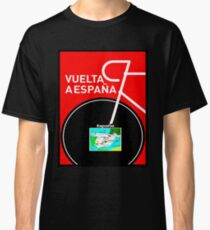 VUELTA A ESPANA: Bicycle Racing Advertising Print Classic T-Shirt
