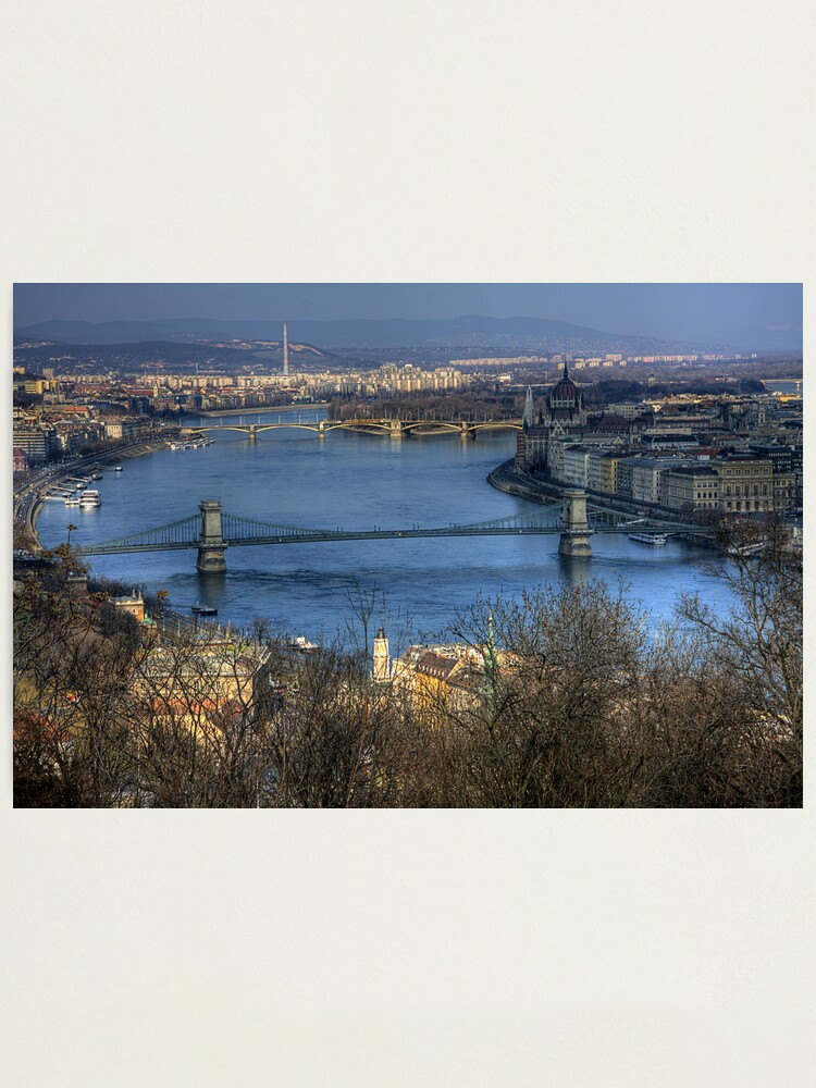 Alternate view of Budapest Photographic Print
