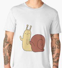 Adventure Time! Waving Snail Men's Premium T-Shirt