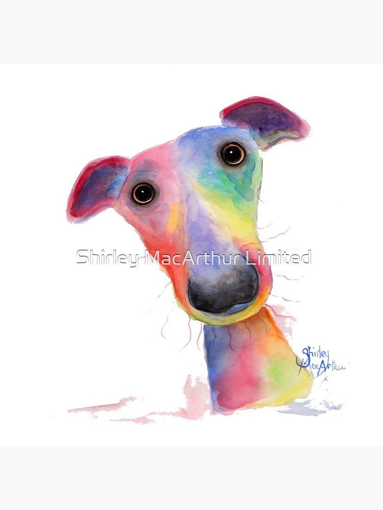 WHiPPeT GReYHouND DOG 'HANK' BY SHIRLEY MACARTHUR by ShirleyMacA