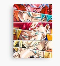 Goku's Evolution Canvas Print