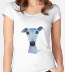 NOSEY DOG 'BLUEBELL' Women's Fitted Scoop T-Shirt