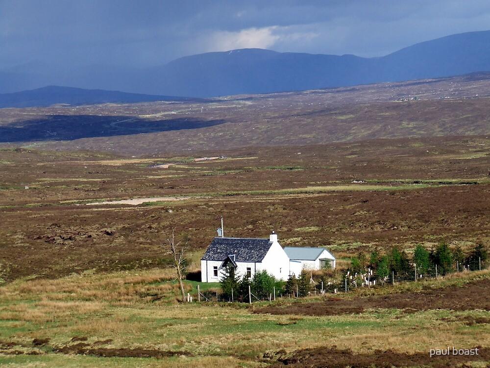 Lone House  by paul boast