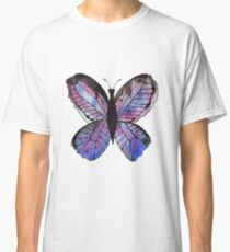 Whimsical Butterfly - Blue Classic T-Shirt