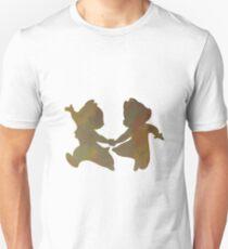 Chipmunks Inspired Silhouette T-Shirt