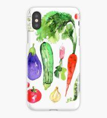 Summer Vegetables iPhone Case/Skin