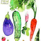 Summer Vegetables by kulawiecka