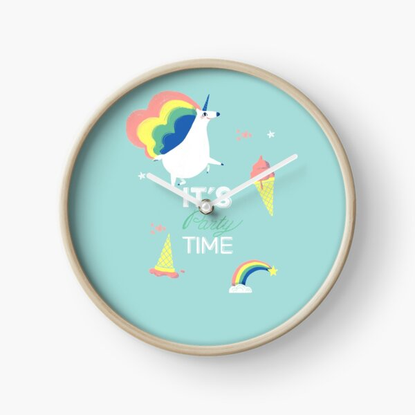 It's party time Horloge