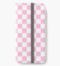Pink Check iPhone Wallet/Case/Skin