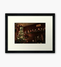 Old-Fashioned Colonial Christmas Holiday Framed Print