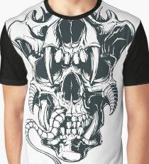 Dangerous Skull Graphic T-Shirt