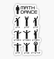 Math dance! Sticker
