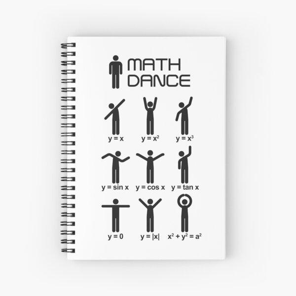 ¡Baile de matemáticas! Cuaderno de espiral