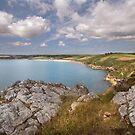 Gerrans bay - Roseland - Cornwall by eddiej