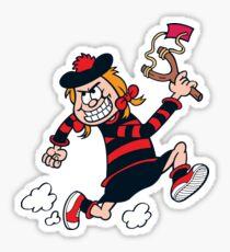 Minnie the Minx Sticker
