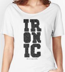 Ironisches T-Shirt Alanis Morisette Baggyfit T-Shirt