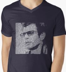 Jurassic Park - Ian Malcolm - Faded Print With Quotes T-Shirt