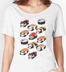 SUSHI PANDA Women's Relaxed Fit T-Shirt