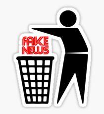 BIN FAKE NEWS Sticker