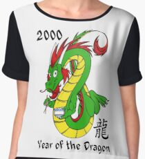 Year of the Dragon (2000) Women's Chiffon Top