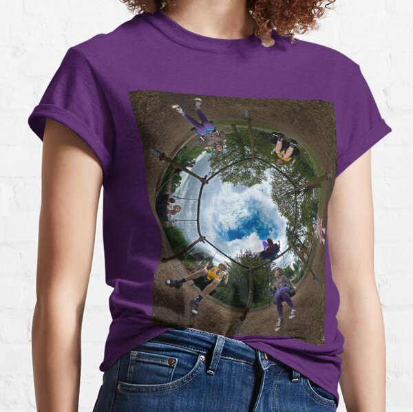 6 Seater Swing - Sky In Classic T-Shirt