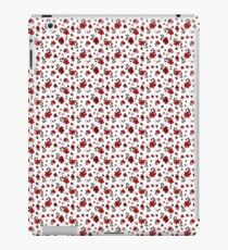 Charming red cherry blossoms pattern iPad Case/Skin