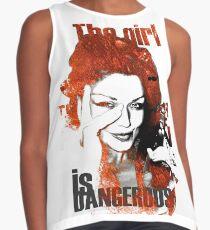 The Girl Is Dangerous Contrast Tank