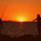 Fisherman and his Muse by KazM