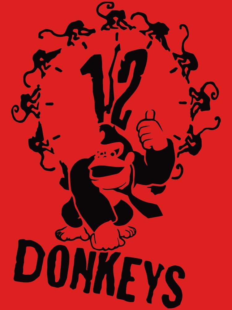 12 Donkeys by anfa