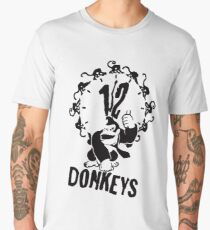 12 Donkeys Men's Premium T-Shirt