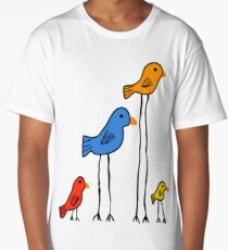 Tall & Small Tweets Long T-Shirt