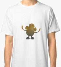 Potato Inspired Silhouette Classic T-Shirt