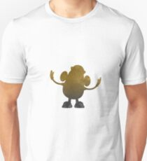 Potato Inspired Silhouette Unisex T-Shirt