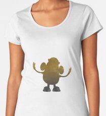 Potato Inspired Silhouette Women's Premium T-Shirt