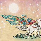 Amaterasu by TeaKitsune