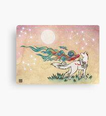 Amaterasu Wolf Canvas Print