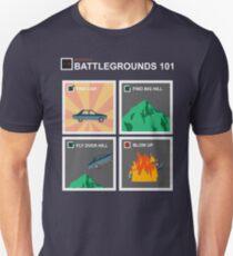 Battlegrounds 101 ( Car ) Unisex T-Shirt