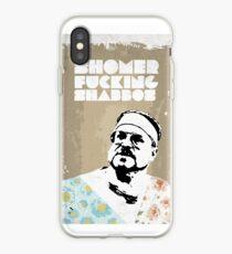 SHOMER FUCKING SHABBOS - The Big Lebowski iPhone Case