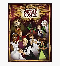 Great Comet montage Photographic Print