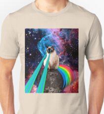 SIAMESE LASER CAT  Unisex T-Shirt
