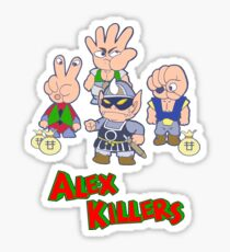 Alex Kidd - Janken Gang Sticker