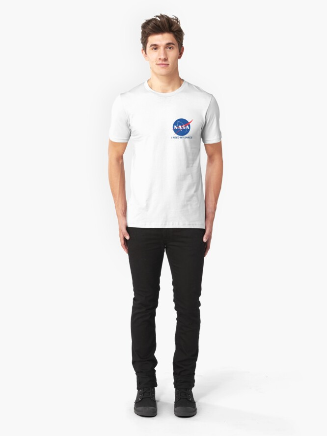 Alternate view of I Need My Space Slim Fit T-Shirt