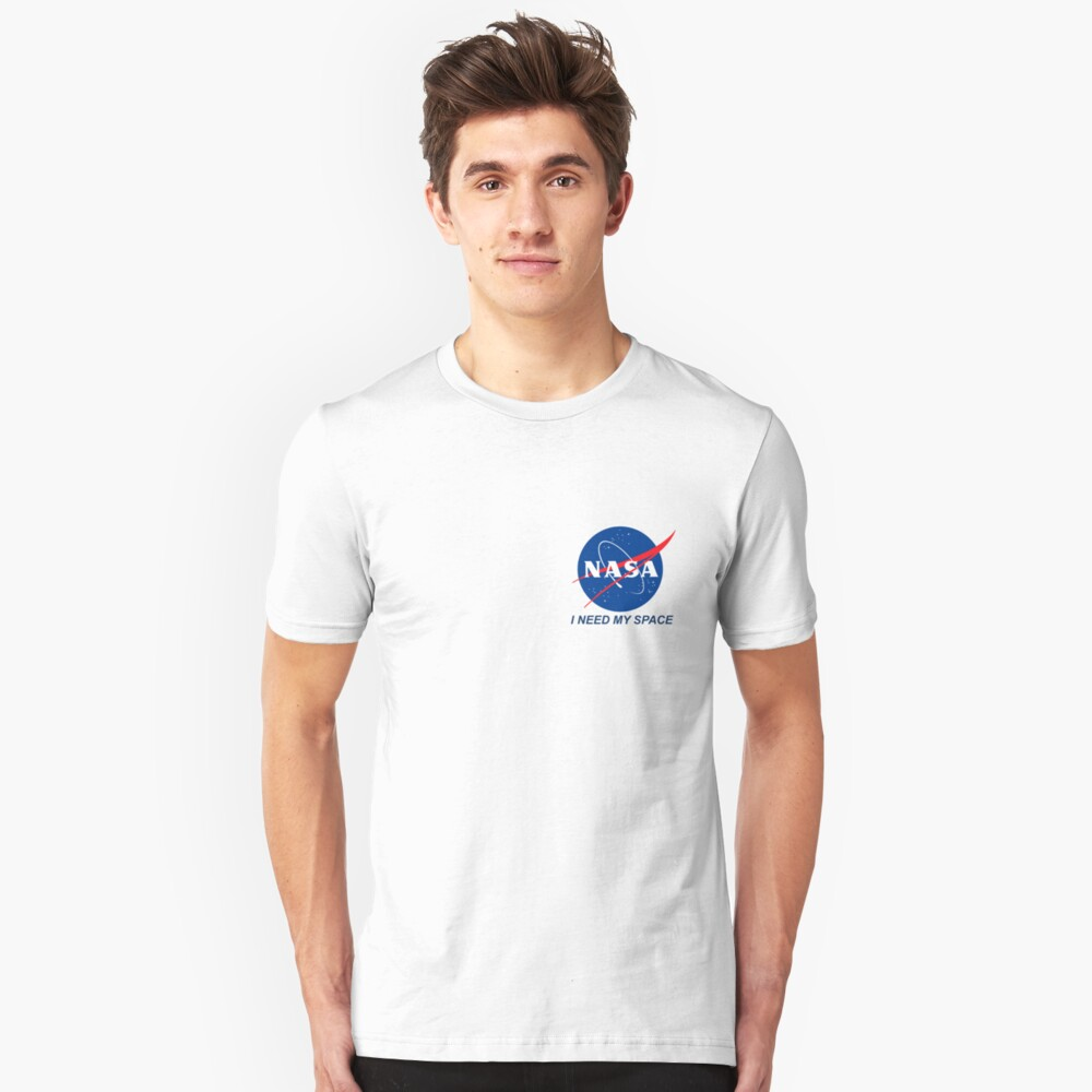 I Need My Space Slim Fit T-Shirt