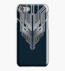 Hanging Cathedral: Steel Grey/ Prussian Blue iPhone Case/Skin