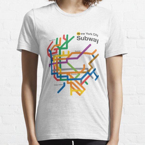NYC Subway diagram Essential T-Shirt